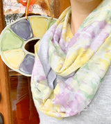 King Cake Infinity Scarf
