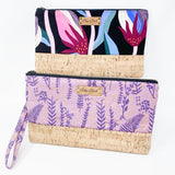 Large Wristlet/ Dark Tropical