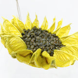 Yellow Cotton Sunflower Ornament