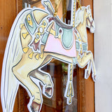 City Park Flying Horse Door Hanger
