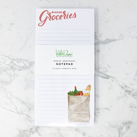 Makin' Groceries Notepad