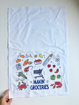 Makin' Groceries Towel