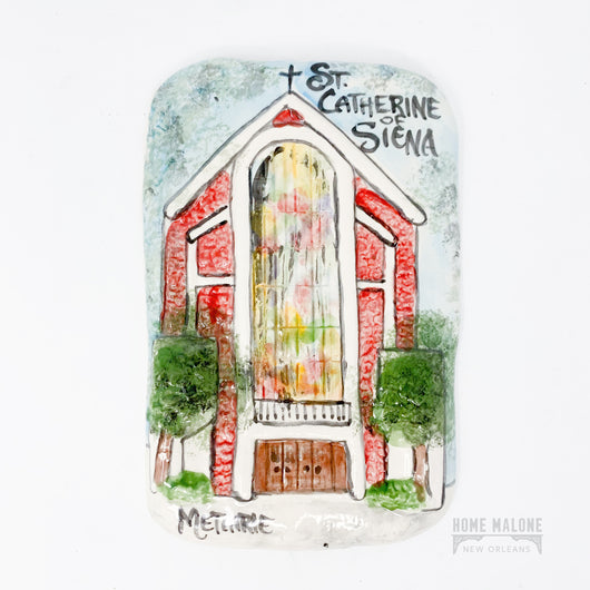Old Metairie St. Catherine Of Sienna Art