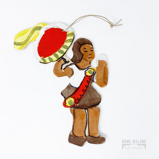 Lorraine Gendron Second Line Woman Ornament