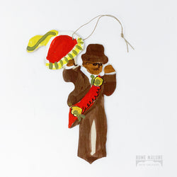 Lorraine Gendron Second Line Man Ornament