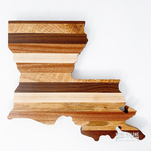 Louisiana Cutting Board Stripes