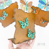 Butterfly Magnet Picture Frame