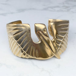 Mimosa Handcrafted Pelican Cuff