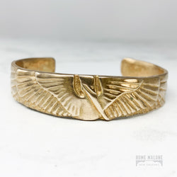 Mimosa Handcrafted Petite Pelican Cuff Bracelet