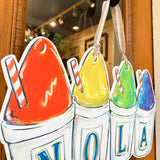NOLA Sno-Ball Door Hanger