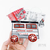 Chewing Candy Cart Ornament