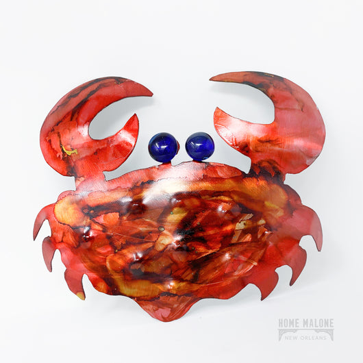 Metal Stone Crab Art