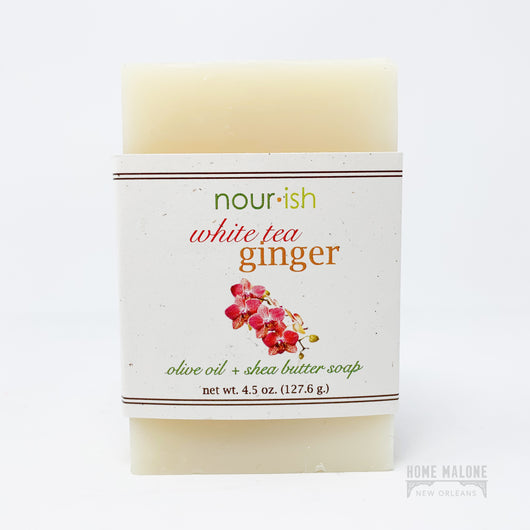 White Tea Ginger Bar Soap