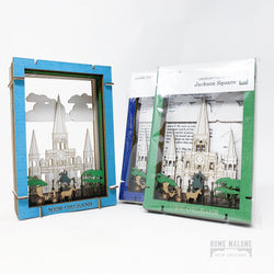 St. Louis Cathedral 3D Diorama