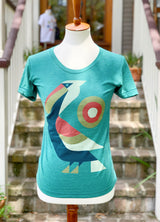 Perched Pelican Womens' Tee
