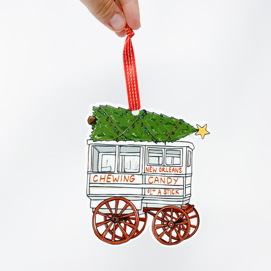 Roman Candy Cart Christmas Tree Ornament Home Malone