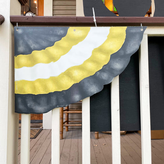 Saints Black & Gold Bunting