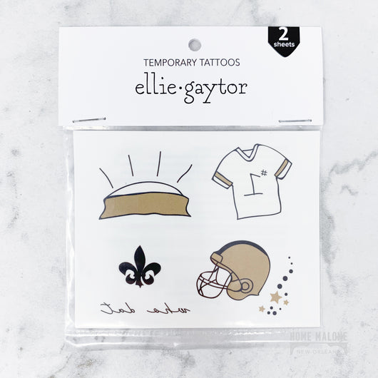 Saints Temporary Tattoos