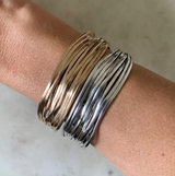 Mimosa Handcrafted: Loblolly Pine Needle Cuff