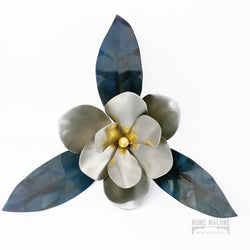 Small Stainless Steel Magnolia