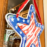 Stars & Stripes Door Hanger