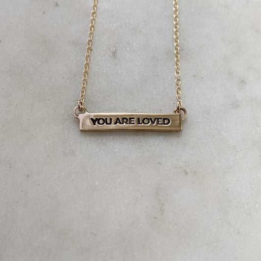 Mimosa - You Are Loved Necklace