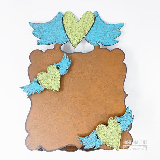 Winged Heart Picture Frame Made In USA