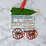 Roman Candy Christmas Ornament