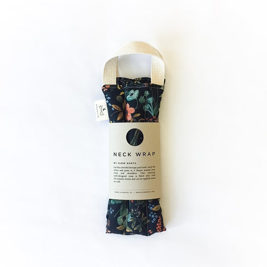 Neck Wrap Therapy Pack: Herb Garden