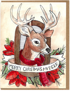 Merry Christmas My Deer Card