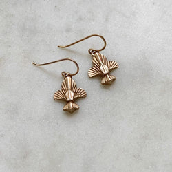 Mimosa Handcrafted Fleur De Lis Earrings