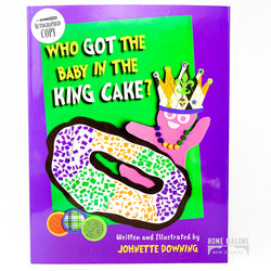 Who Got The Baby In The King Cake Book