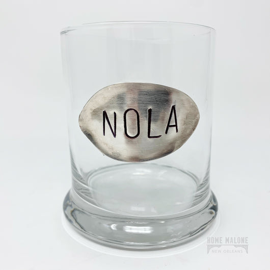 Vintage Spoon Cocktail Glass: NOLA