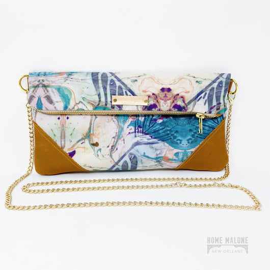Sass Folded Clutch/Crossbody