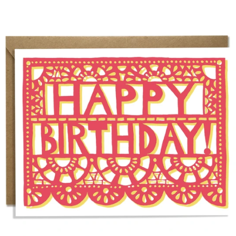 Happy Birthday Fiesta Card