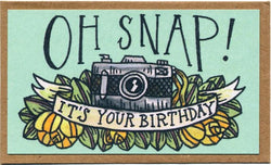 Oh Snap! It's Your Birthday Mini Card