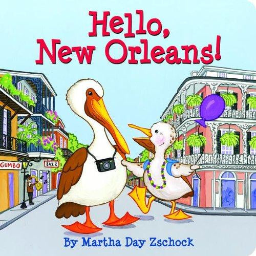 Hello New Orleans Children's Book