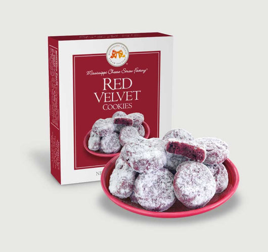 Red Velvet Cookies: 1 oz.