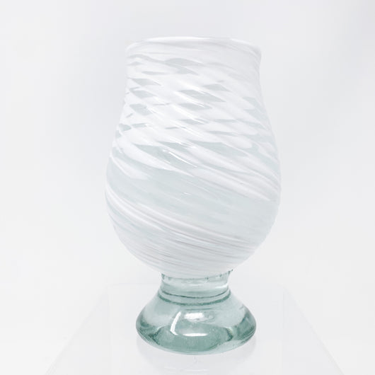 Glass Tumbler - Frosted White