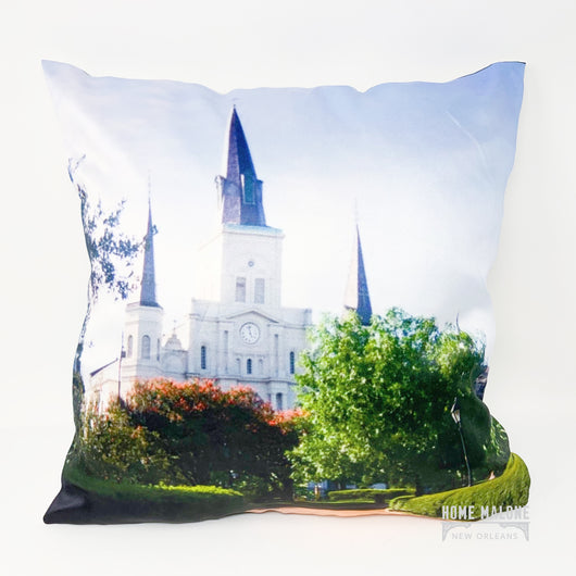 ReFocus St. Louis Cathedral Pillow