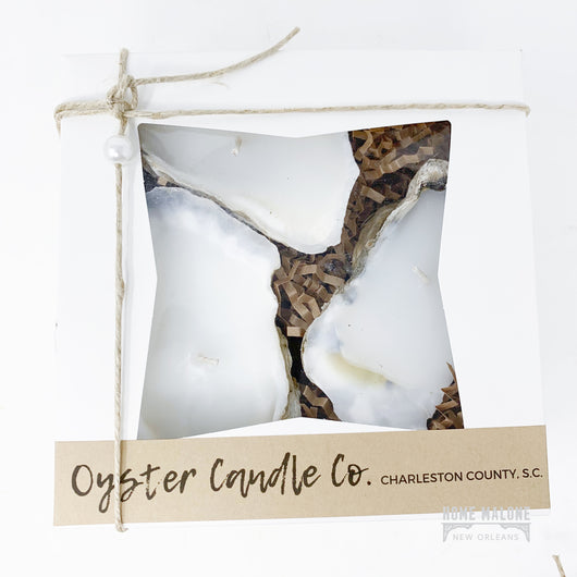 Oyster Shell Candle