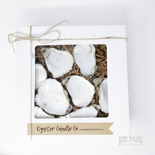 Oyster Candle Gift Set: Large