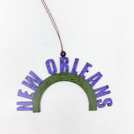 Metal NEW ORLEANS Ornament
