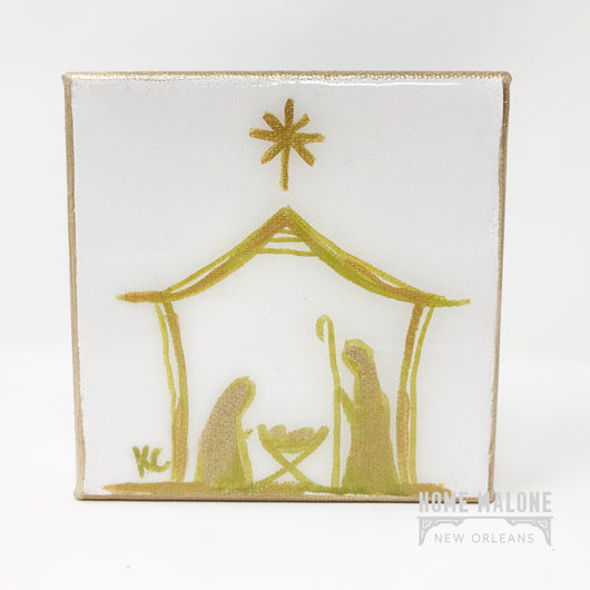 Nativity Scene Art