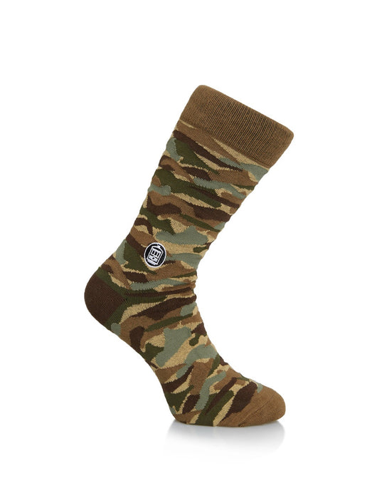 camoflage socks. unisex socks, new orleans socks, bonfolk socks, bonfolk collective socks, shop local new orleans, fun dress socks, funny socks, best place to shop in new orleans.
