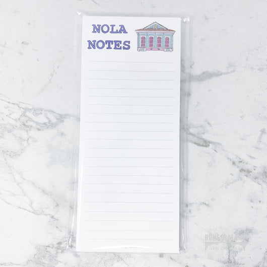 NOLA Notes House Notepad
