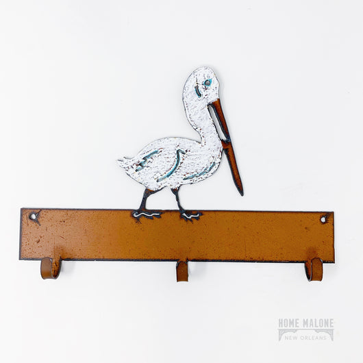 Metal Pelican Coat Hook
