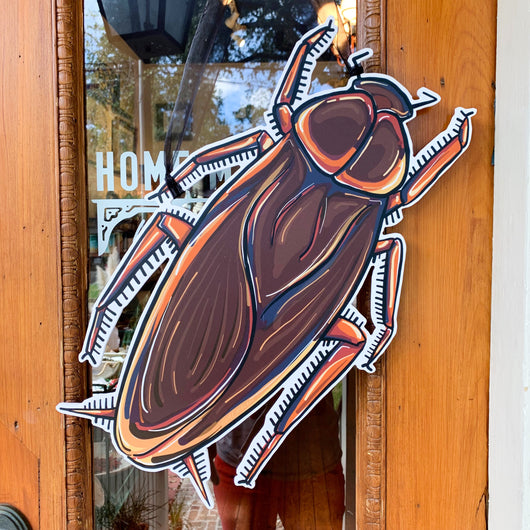 Palmetto Bug Door Hanger