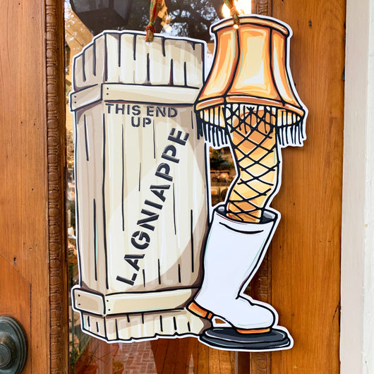 Lagniappe Lamp Door Hanger