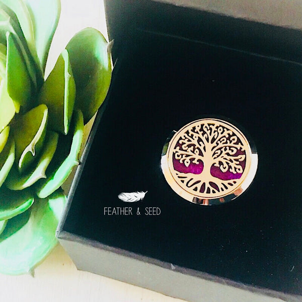 Car Diffuser Tree of Life - Gift Boxed